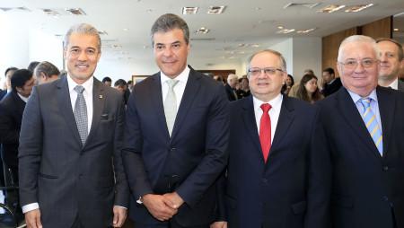 CCIBJ-PR marca presença em evento oficial que recebeu o embaixador da Rússia e posse o primeiro cônsul-honorário da Rússia em Curitiba, Acef Said