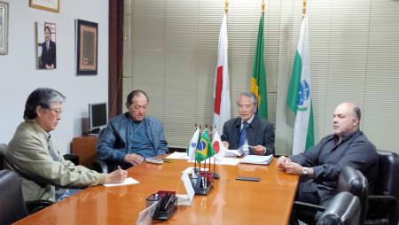 CCIBJ-PR e Instituto Cultural e Científico Brasil Japão realizam reunião de diretoria