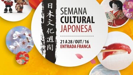 Semana Cultural Japonesa entre os dias 21 a 28 de outubro, em Curitiba